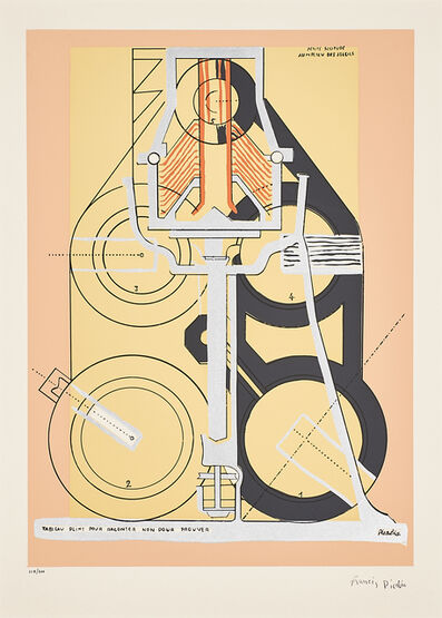 Francis Picabia, 'Petite Solitude au Milieu des Soleils'