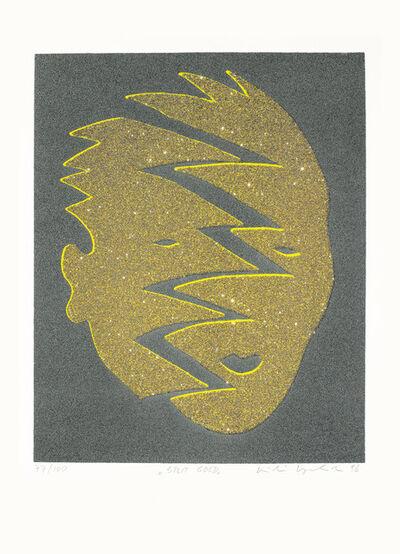 Kiki Kogelnik, 'Split Gold', 1996