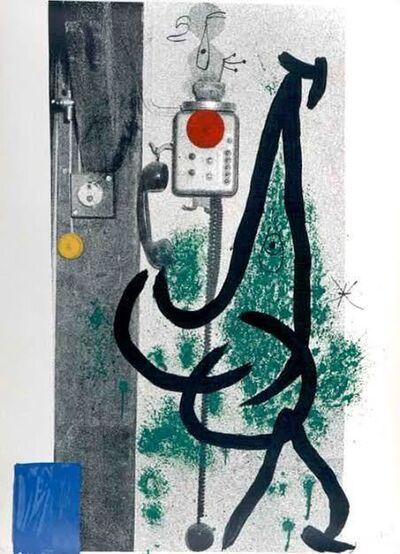 Joan Miró, 'Le Demoiselle au Telephone', 1971