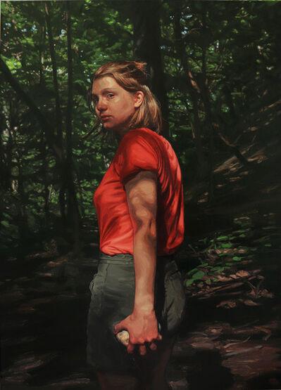 Laura Sanders, 'By Herself, Glen Echo Ravine', 2019