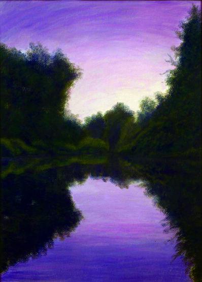 Jim Schantz, 'Green River, Summer Dusk'