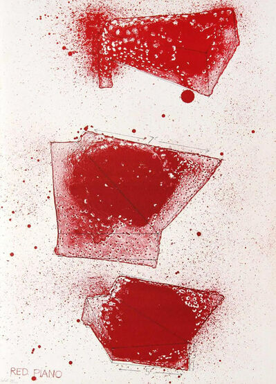 Jim Dine, 'Red Piano', 1968