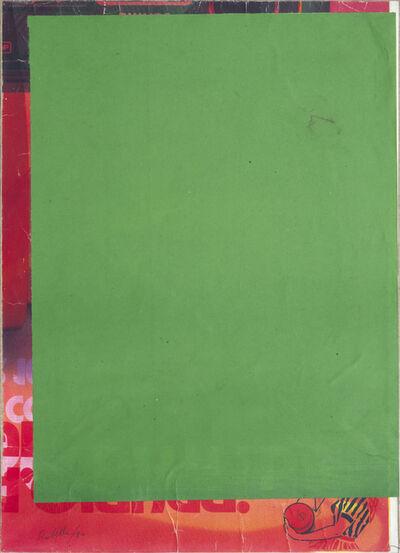 Mimmo Rotella, 'Blank demi frame', 1980-1981