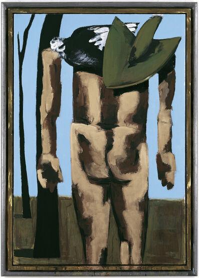 Markus Lüpertz, 'Rückenakt', 2006