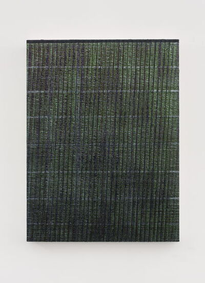 Chi Qun 迟群, '一条线 - 绿紫 One Line - Green and Purple', 2018