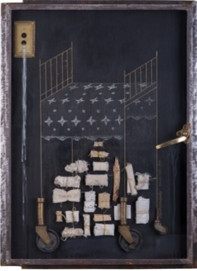 CLAUDIA PEÑA, 'Atesoramiento, Serie Recogimiento', 2014