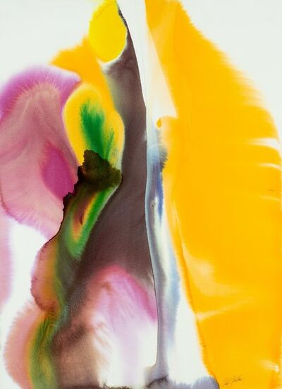 Paul Jenkins, 'Phenomena Amber Gift', 1976