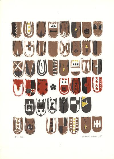 Yukihisa Isobe, 'Crests Series', 1965