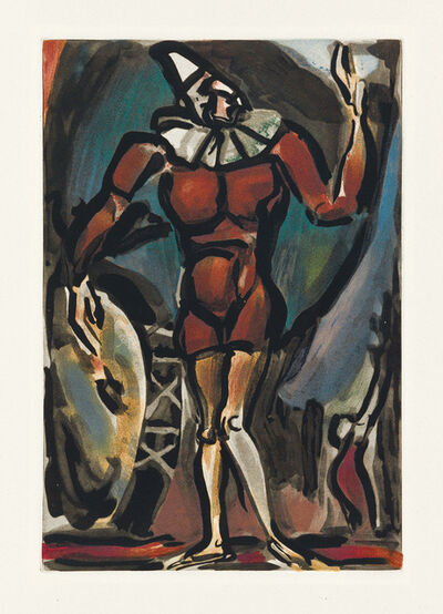 Georges Rouault, 'Two color aquatints', Both 1930