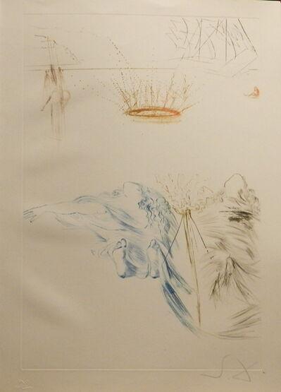 Salvador Dalí, 'Tristan et Iseult Tristan's Testament', 1970