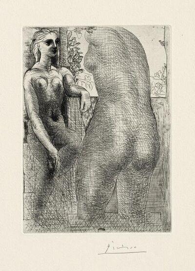 Pablo Picasso, 'Modèle et Grande Sculpture de Dos', 1933