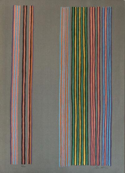 Gene Davis, 'Royal Curtain', ca. 1980