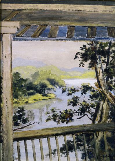Louis Michel Eilshemius, 'Balcony, Delaware Water Gap', 1900