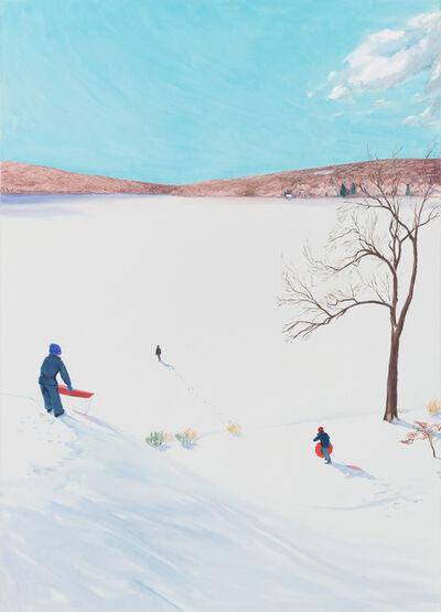 Sebastian Blanck, 'Out on the Frozen Lake', 2017