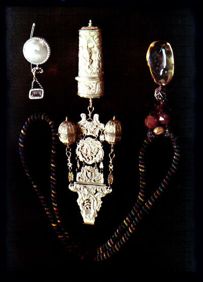 Mary Olive Edis, 'Still Life of Handmade Jewelry and Silver Objects', ca. 1912