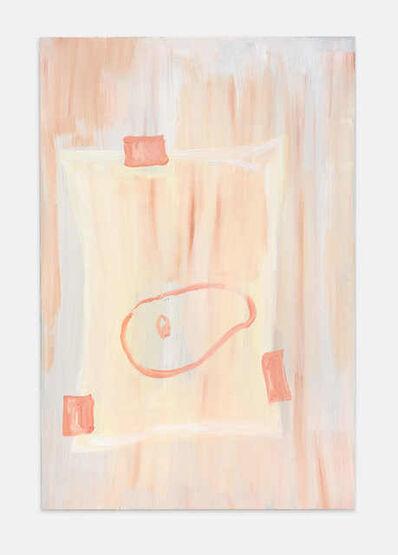 Maximiliane Baumgartner, 'Pinsel Portrait - Gusto oder zwischen roten Städten VI', 2018