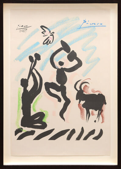 Pablo Picasso, 'La Danse du Berger. (The Dance of the Shepherd.)', 1959