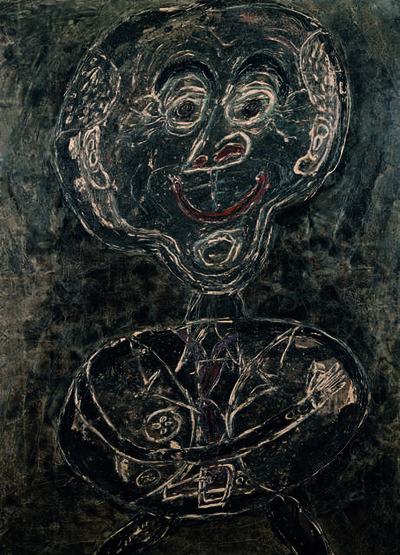 Jean Dubuffet, 'Ponge feu follet noir (Ponge as Will-o'-the-Wisp)', 1947