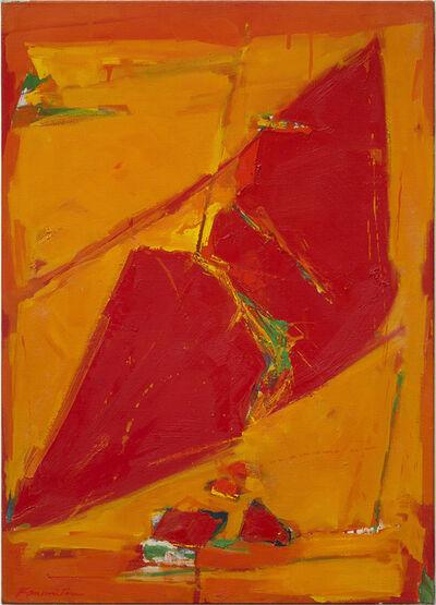 Matsumi Kanemitsu, 'Untitled (Red)', 1960