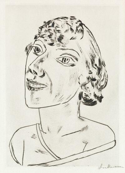 Max Beckmann, 'Sarika', 1922