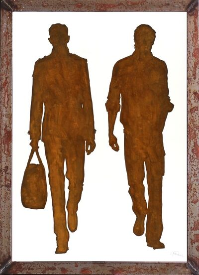 Gerhard Völkle, 'Friends on the Road 1 (framed)', 2013