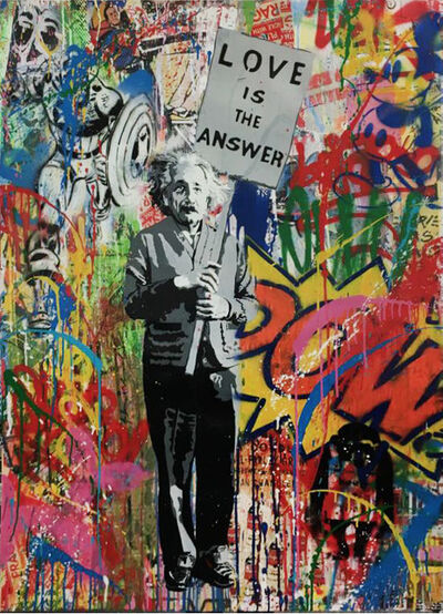Mr. Brainwash, 'Einstein', 2016