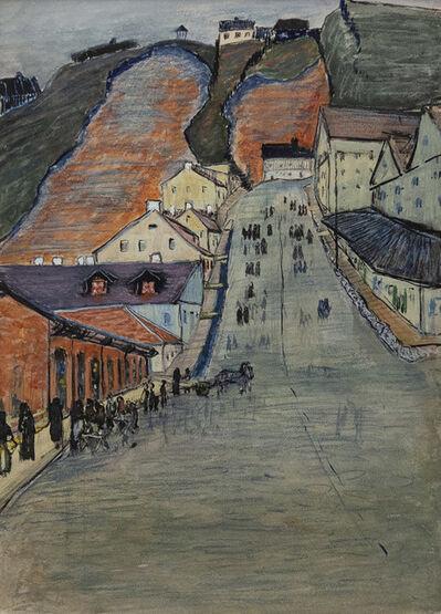 Marianne von Werefkin, 'La montagna verde', 1910