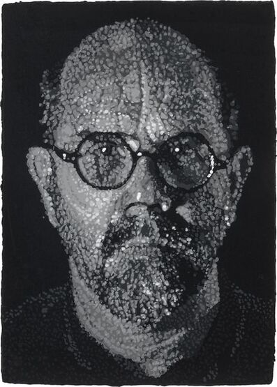 Chuck Close, 'Self Portrait-Pulp', 2001