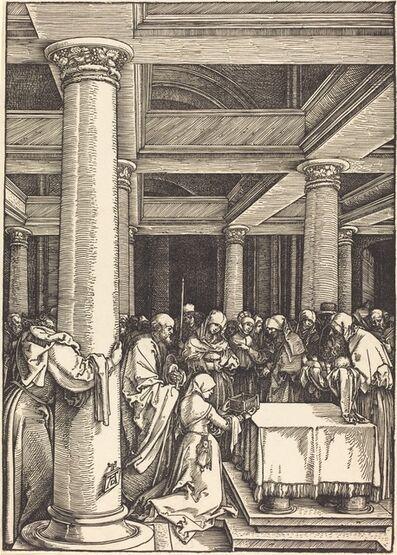Albrecht Dürer, 'The Presentation of Christ in the Temple', ca. 1504/1505