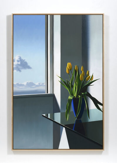 Bruce Cohen, 'Tulips on Glass Table', 2019