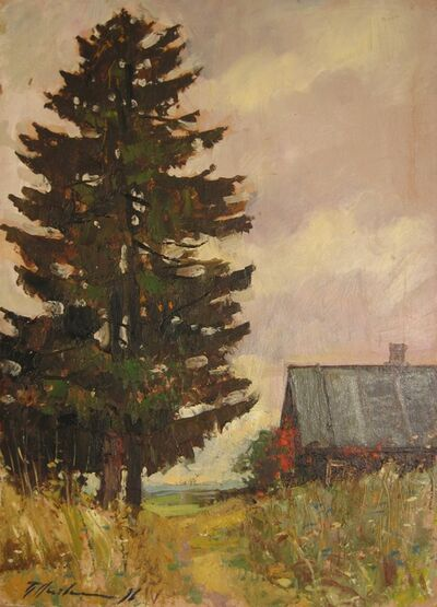Petr Petrovich Litvinsky, 'Old fir tree', 1996