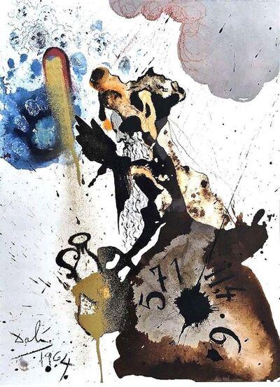 Salvador Dalí, 'Mane, Thecel, Phares ', 1964