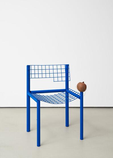 David Renggli, 'Sitzmöbel (blau)', 2020