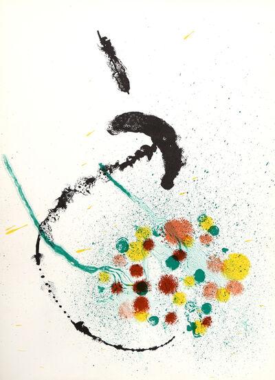 Joan Miró, 'La Fille du Jardinier I from Derrière le Miroir ', 1963