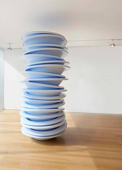 Robert Therrien, 'No Title (Stacked Plates)', 2006