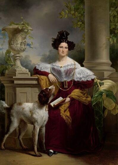 Jan Adam Kruseman, 'Portrait of Alida Christina Assink', 1833