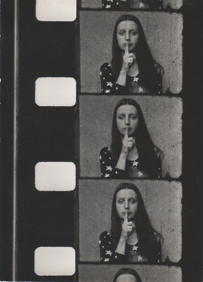 Ewa Partum, 'Tautological Cinema (still)', 1973-1974