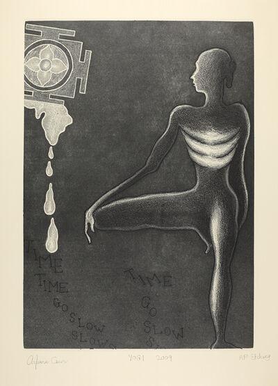 Arpana Caur, 'Yogi', 2009