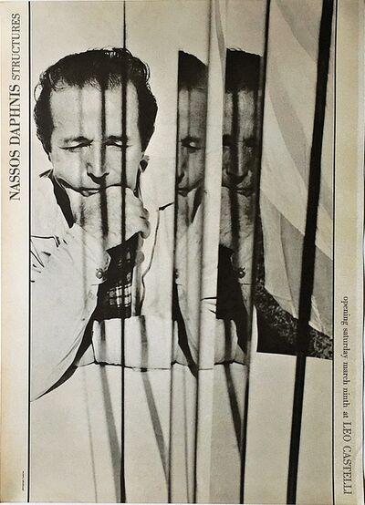 Nassos Daphnis, 'Structures (Rare Leo Castelli Gallery invitation)', 1963