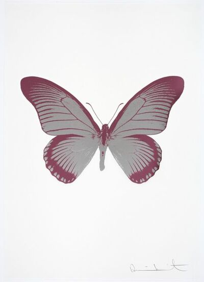 Damien Hirst, 'The Souls IV - Silver Gloss - Loganberry Pink', 2010