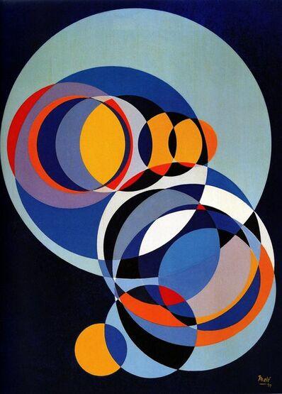 Juan Melé, 'Círculos Espaciales ', 1972