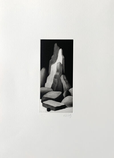 Nicolas Party, 'Rocks', 2016