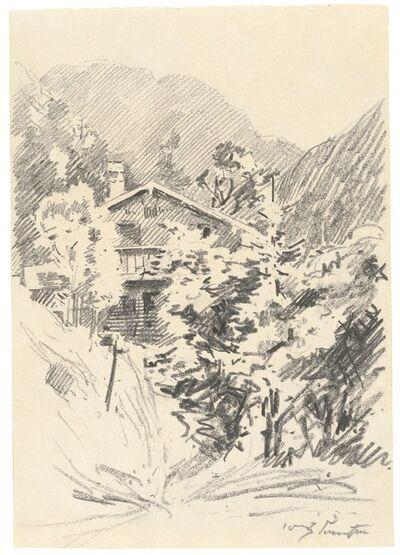 Lovis Corinth, 'Walchensee', ca. 1920