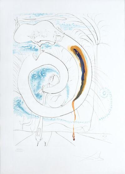 Salvador Dalí, 'Le Cercle viscéral du cosmos. (The Visceral Circle of the Cosmos.)u cosmos. (The Visceral Circle of the Cosmos.)', 1974