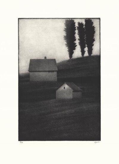 Robert Kipniss, 'Three trees.', 2018