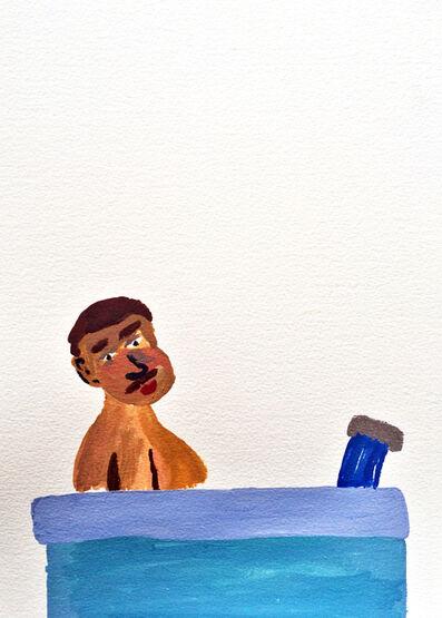 Sara Zielinski, 'Men in Baths 4', 2015