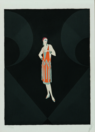 Erté (Romain de Tirtoff), 'Manhattan Mary I', 1979