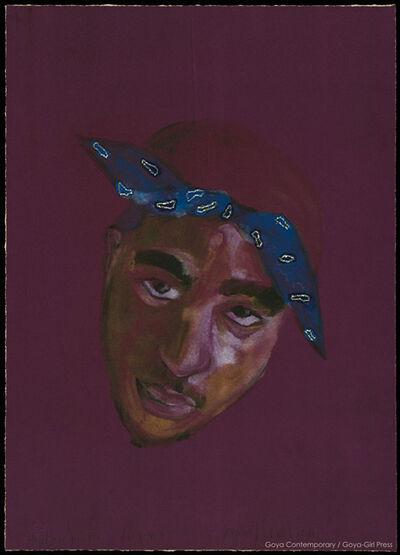 Joyce J. Scott, 'Hip Hop Saint, Tupac', 2014