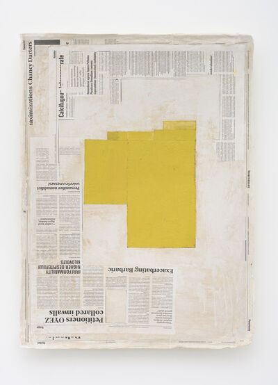 Mark Manders, 'Composition with Yellow'