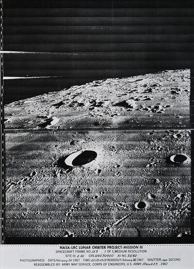 NASA, 'Spacecraft Frame No. 123', 1967
